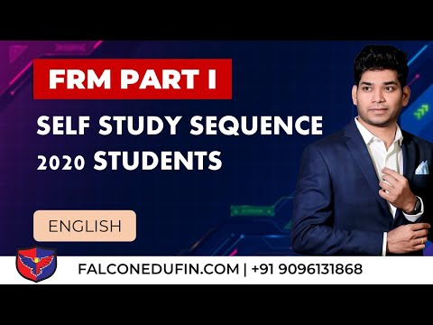 Self Study Sequence FRM Part I 2020 (New Guide for 2021 ...