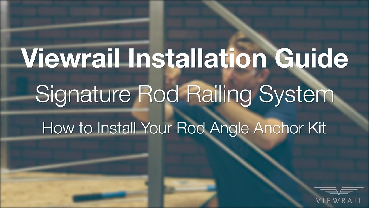 How to Install Angle Rod Anchor