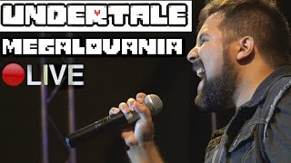 Megalovania [LIVE] - UNDERTALE (Caleb Hyles & RichaadEb)