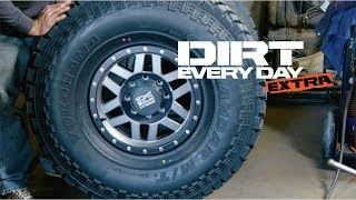 Different Types of Military Hummer Wheels and Beadlocks With Dirthead Dave - Dirt Every Day Extra