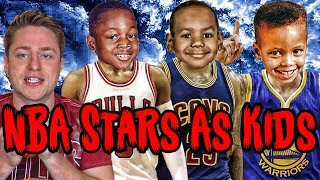 Can YOU Name NBA Stars Using Their BABY Photos?