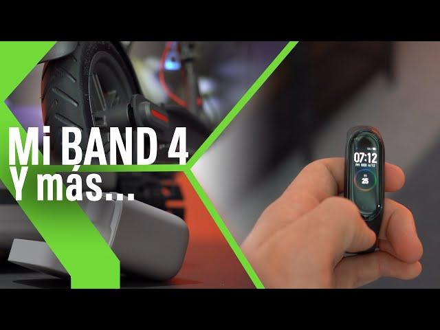 Mi BAND 4, Mi SCOOTER PRO y Mi True Wireless, los nuevos productos de XIAOMI que llegan a ESPAÑA