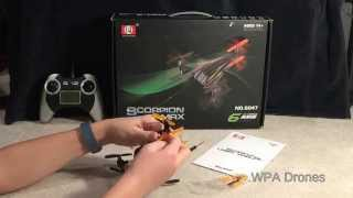 SH Scorpion S-Max Tricopter Y-6 Review