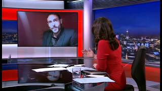 Interview - Model re Conde Nast - BBC News Channel/World - US/India/Aust Facing