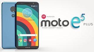 MOTO E5 PLUS 2018 Trailer Concept Design Official introduction !