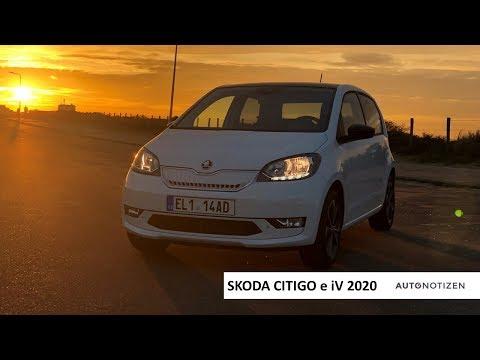 Skoda Citigo e iV 2020: Elektroauo im Review, Test, Fahrbericht