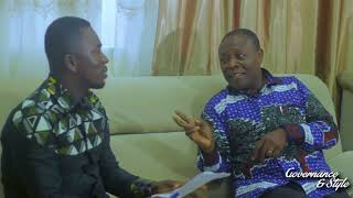 FRANK OTUMFOUR WITH PROF. GEORGE K.T ODURO, THE PRO- VICE CHANCELLOR, UCC