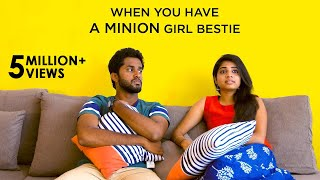 When you have a Minion Girl Bestie | Awesome Machi | English Subtitles