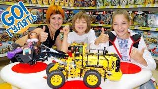 Видео Лего: Капуки Кануки. Москва для детей! Идём в музей Лего