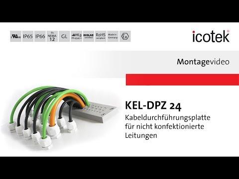 icotek Kabeldurchführung KEL-DPZ 24