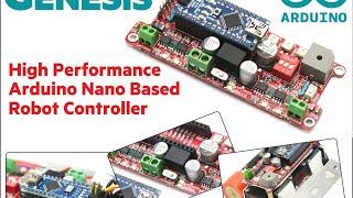 Robot minisumo - parte 1: Electrnica y software de