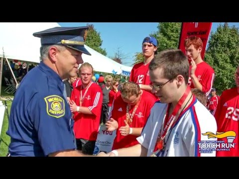 Law Enforcement Torch Run for Special Olympics Michigan Recruitment Video (2016)