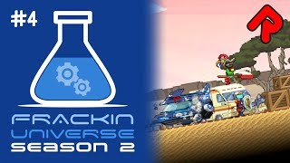 Building our Item Transfer Network! | Let's play Starbound Frackin' Universe S2 ep 4