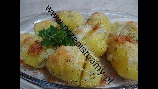 Ziemniaki zapiekane w piekarniku! Ziemniaki z serem żółtym! Jak zrobić ziemniaki zapiekane z serem