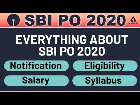 SBI PO 2020   Everything You Need to Know About SBI PO Exam ...