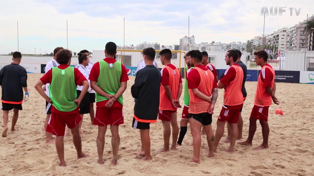 Curso de Fútbol Playa a cargo de Ramiro Amarelle