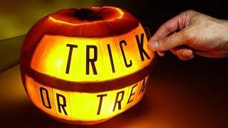 Halloween Pumpkin Message Board - Video Youtube