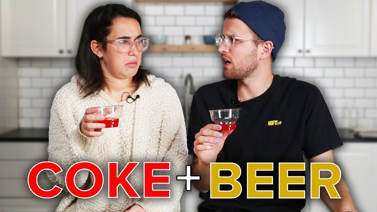 People Try Bizarre Drink Combinations thumbnail