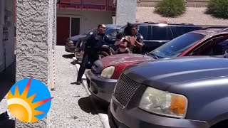 Disturbing Confrontation with Phoenix Police Captured on Cellphone Video