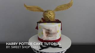 Harry Potter Cake Tutorial   Sweet Shop Cakes
