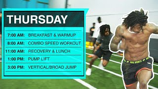 What Goes into Training for the NFL Combine?