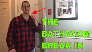 How To Unlock a Bathroom Door With a Bobby Pin