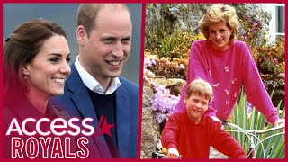 Kate Middleton & Prince William Take Kids To Island He Visited With Princess Diana