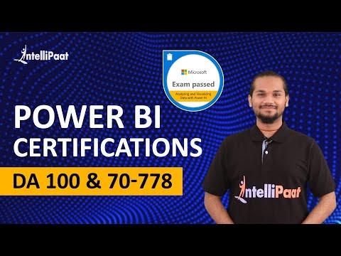 Power BI Certification - 70-778 Exam - YouTube