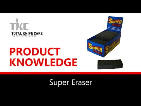 Product Knowledge/Demo - RUST ERASER