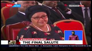 President Uhuru cracks ribs as he narrates a 5 AM call he got from Mzee Moi