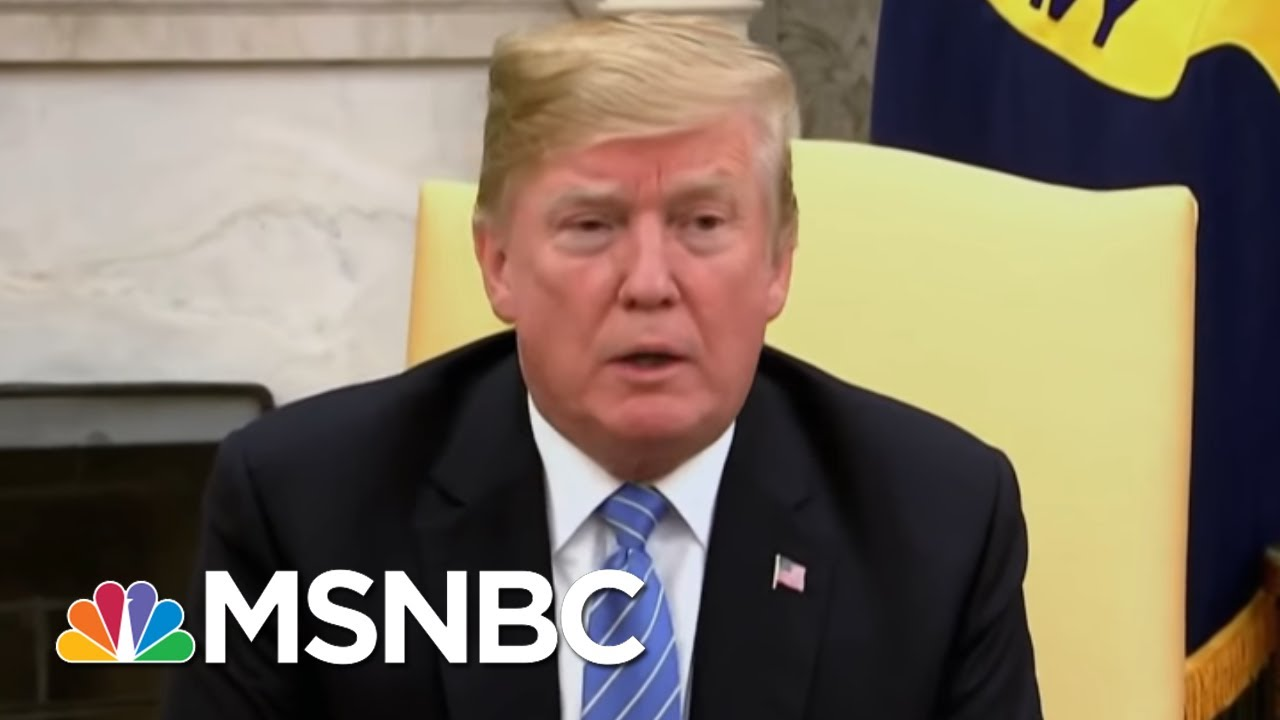 Report: Donald Trump's Lawyers Set New Conditions For Interview With Mueller   The Last Word   MSNBC thumbnail