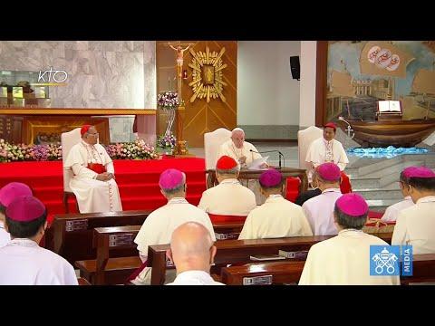 Rencontre avec les évêques de Thaïlande et de la Fédération des conférences épiscopales asiatiques