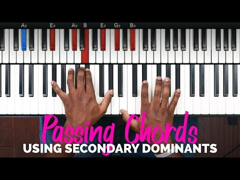 BASIC GOSPEL PASSING CHORDS