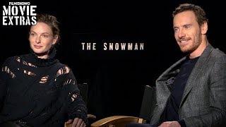 The Snowman (2017) Michael Fassbender & Rebecca Ferguson talk about the movie