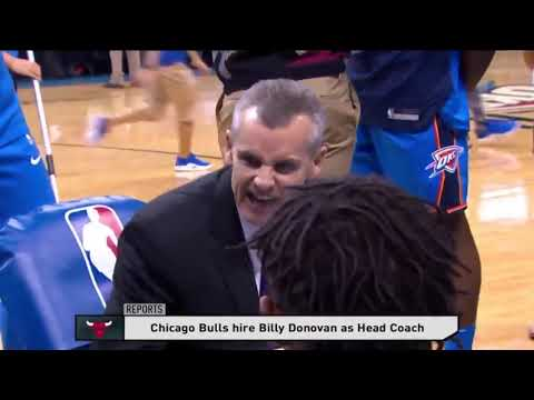 Billy Donovan has agreed to a deal to become the next coach of the Chicago Bulls
