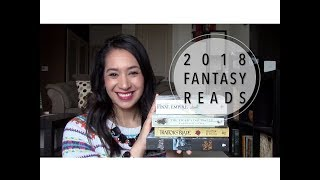 Fantasy Books I Want To Read in 2018