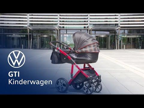 Volkswagen GTI kinderwagen