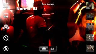 Sony Ericsson Xperia™ arc - ExmorR Sensörü