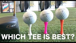 Hit Your Driver Further With The Correct Tee Height?