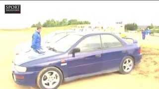 Stage de pilotage Rallye en Subaru