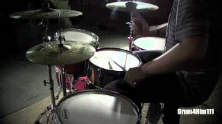 Walk Off The Earth   Man Down   Drum Cover
