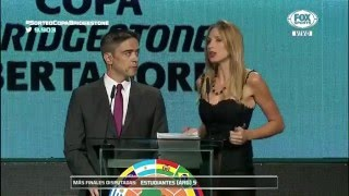 Reconocimiento al Club Olimpia en el sorteo de la Copa Libertadores 2016