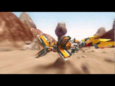 Vidéo LEGO Star Wars 7962 : Anakin Skywalker and Sebulba's Podracers