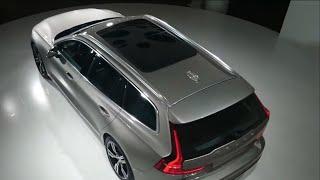 Вот он, новый Volvo V60 2018