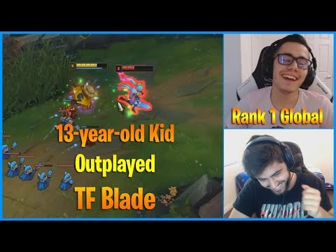 TF Blade gets Outplayed by a 13-year-old Kid..| LoL Daily Moments Ep 711