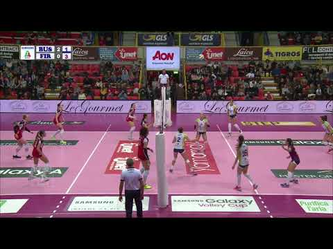 #Pallavolo A1 femminile - Busto Arsizio-Firenze 3-1: highlights