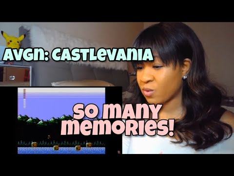 Reacting to ANGRY VIDEO GAME NERD - CASTLEVANIA (PART 2)