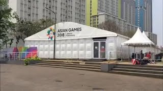 Suasana Wisma Atlet Kemayoran Pasca-Asian Games 2018