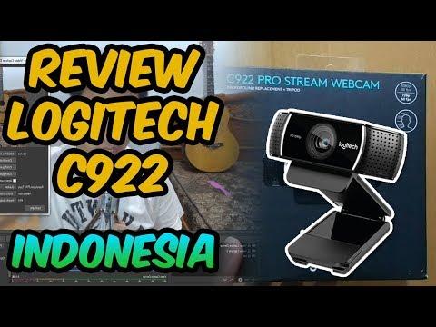 Webcam terbaik !! Unboxing dan Review Webcam Logitech C922 Pro Webcam Indonesia.