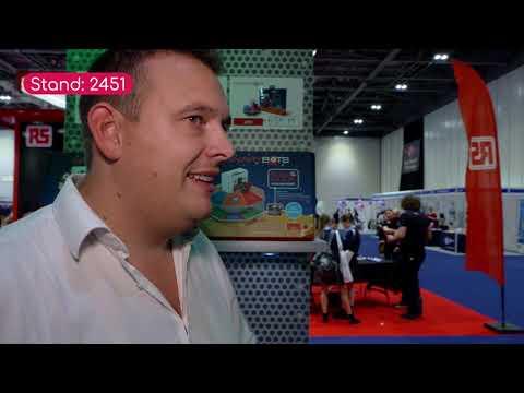 Binary Bots at New Scientist Live 2018